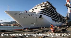 Das teuerste Kreuzfahrtschiff der Welt – Bild: Channel 5/Windfall Films