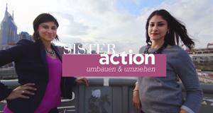 Sister Action – Umbauen & Umziehen – Bild: sixx/Screenshot