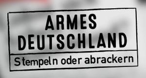 Armes Deutschland – Stempeln oder abrackern? – Bild: RTL II