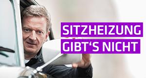 Sitzheizung gibt's nicht – Bild: ZDF/André Beckersjürgen
