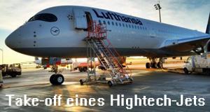 Take-off eines Hightech-Jets – Bild: Spiegel TV