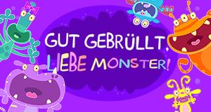 Gut gebrüllt, liebe Monster! – Bild: ZDF/Cbeebies