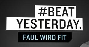 #BeatYesterday – Faul wird fit – Bild: Rocket Beans TV/Screenshot