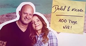 Detlef & Nicole - 100 Tage wir – Bild: TVNOW/Frank W. Hempel