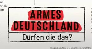 Armes Deutschland – Dürfen die das? – Bild: RTL II