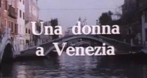 Eine Frau in Venedig