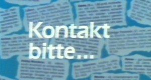 Kontakt bitte…