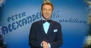 Peter Alexander: Wir gratulieren – Bild: ZDF