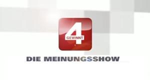 Vier gewinnt - Die Meinungsshow – Bild: n-tv
