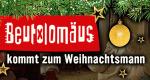 Beutolomäus kommt zum Weihnachtsmann – Bild: KI.KA/Christiane Pausch