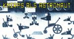 Knirps als Astronaut