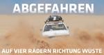 Abgefahren – auf vier Rädern Richtung Wüste – Bild: ZDF/Christina Haas/Alexandra Brückner