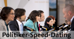Politiker-Speed-Dating – Bild: Phoenix