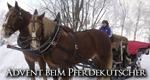 Advent beim Pferdekutscher – Bild: MDR/Todt
