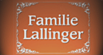 Familie Lallinger