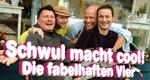 Schwul macht cool! – Die fabelhaften Vier – Bild: RTL II