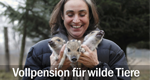 Vollpension für wilde Tiere – Bild: NDR/Angela Kraft