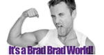 It's a Brad Brad World – Bild: Bravo
