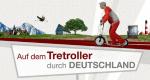 Auf dem Tretroller durch Deutschland – Bild: DW