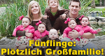 Fünflinge: Plötzlich Großfamilie – Bild: Nat Geo People