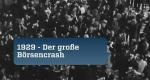 1929 – Der große Börsencrash – Bild: ZDFinfo/arte/Roche Productions