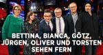 Bettina, Bianca, Götz, Jürgen, Oliver und Torsten sehen fern – Bild: WDR/Melanie Grande
