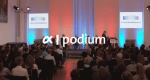alpha-podium – Bild: ARD-alpha