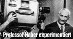 Professor Haber experimentiert